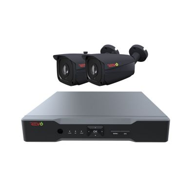 Aero HD 4 Ch. 1TB 5MP Video Surveillance System with 2 Indoor/Outdoor Bullet Cameras