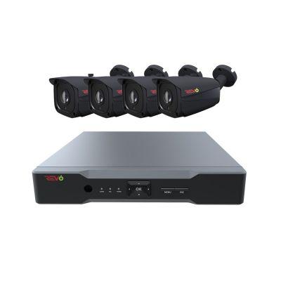 Aero HD 4 Ch. 1TB 5MP Video Surveillance System with 4 Indoor/Outdoor Bullet Cameras