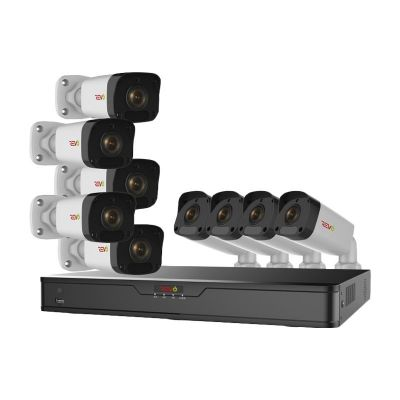 Ultra HD 16 Ch. 2TB IP NVR Surveillance Camera System with 9 2MP Bullet Security Cameras