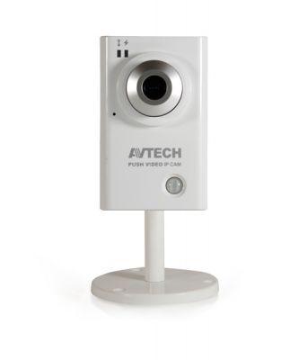 Color 1.3MP Sony IP Push Video Cube Camera