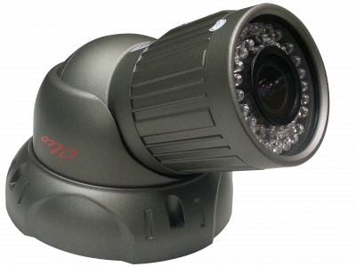 All New!! Cleo 700 TVL Full Size Turret! 130' Night Vision Range!