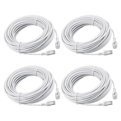 REVO 100ft CAT5e Cable - Pack of 4
