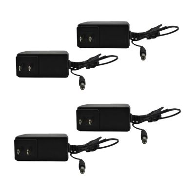 12V Power Adapter(2000 Milliamps) - Pack of 4