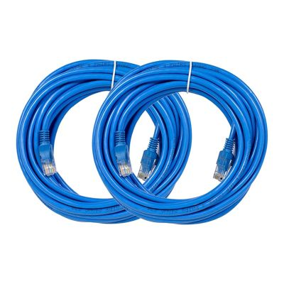 REVO 25ft CAT5e Cable - Pack of 2