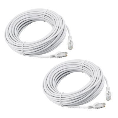 REVO 50ft CAT5e Cable - Pack of 2