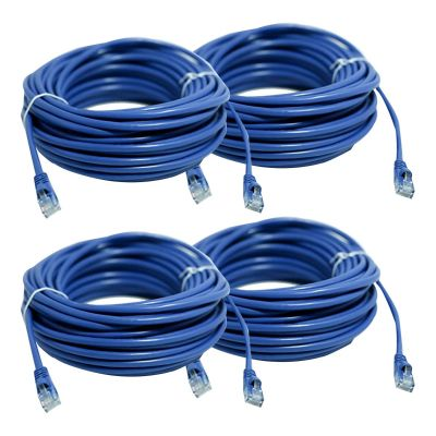 REVO 50ft CAT5e Cable - Pack of 4