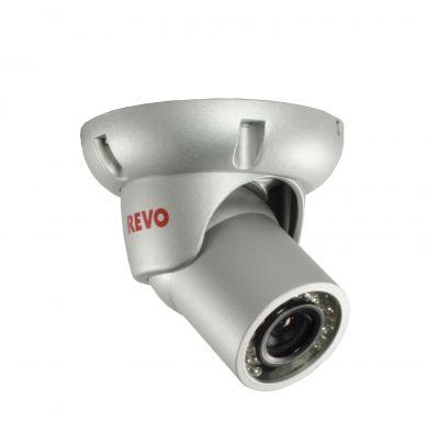 700 TVL Indoor/Outdoor BNC Mini Turret Surveillance Camera with 100 ft. Night Vision
