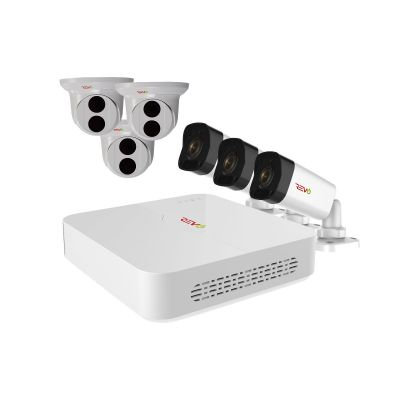 Ultra HD 8 Ch. 2TB NVR Home Surveillance System with 6 4MP Security Cameras