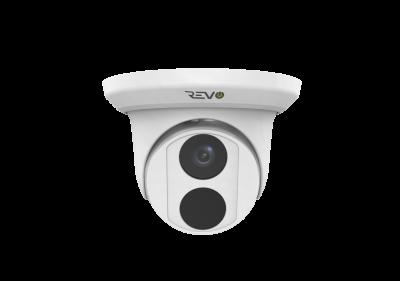 REVO ULTRA 4K (8 Megapixel) Indoor/Outdoor Fixed Lens Turret Camera w/ 100' CAT5e Cable