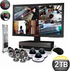 16 Channel Security System