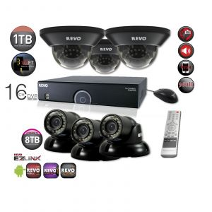 16 Ch. 1TB 960H DVR Surveillance System with 6 700TVL 100 ft. Night Vision Cameras