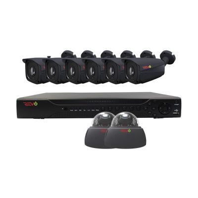 Aero HD 16 Ch. 2TB 5MP Video Surveillance System with 8 Indoor/Outdoor Cameras