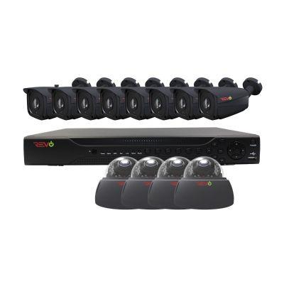Aero HD 16 Ch. 2TB 5MP Video Surveillance System with 12 Indoor/Outdoor Cameras