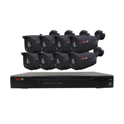 Aero HD 16 Ch. 2TB 5MP Video Surveillance System with 8 Indoor/Outdoor Bullet Cameras