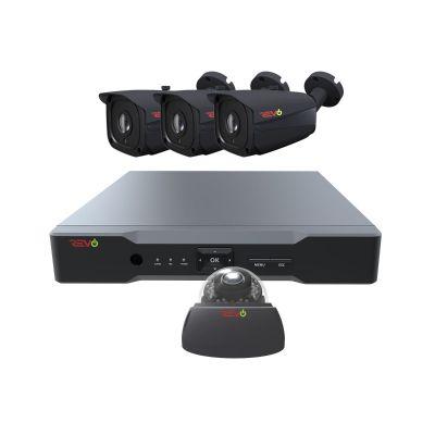 Aero HD 8 Ch. 1TB 5MP Video Surveillance System with 4 Indoor/Outdoor Cameras