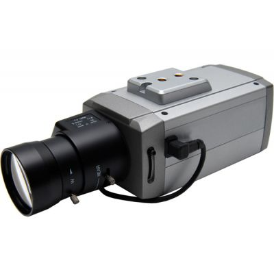 Color HawkII WDR Dual Volt C/CS Box Camera 650TVL