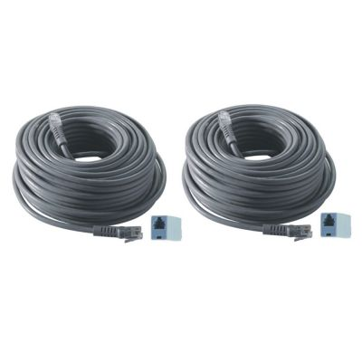REVO 2-Pack of 100 ft. RJ12 Cable