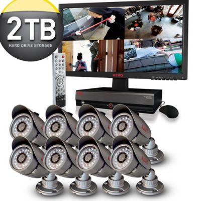REVO Professional 16 Channel System w/ 2TB HDD