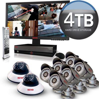 REVO 16 Channel Surveillance System w/ 4TB HDD