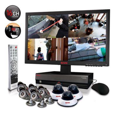 REVO 16 Channel Surveillance System w/ 2TB HD