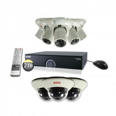 16 Ch. 2TB 960H DVR Surveillance System with 8 1200TVL 100 ft. Night Vision Cameras