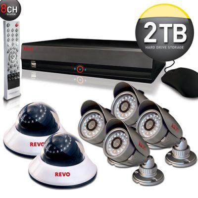 REVO 8 Channel Surveillance System