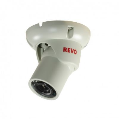 1200 TVL Indoor/Outdoor Mini Turret Surveillance Camera with 100 ft. Night Vision