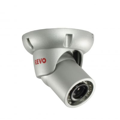 700 TVL Indoor/Outdoor BNC Mini Turret Surveillance Camera with 100 ft. Night Vision