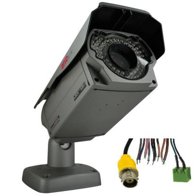 700 TVL Indoor/Outdoor 22x Auto Focus Zoom Bullet Surveillance Camera with 265 ft. Night Vision