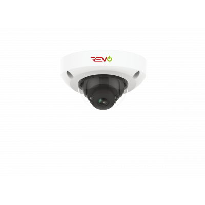 Ultra HD Audio Capable 4 Megapixel Vandal-Resistant IP Surveillance Mini Dome Camera