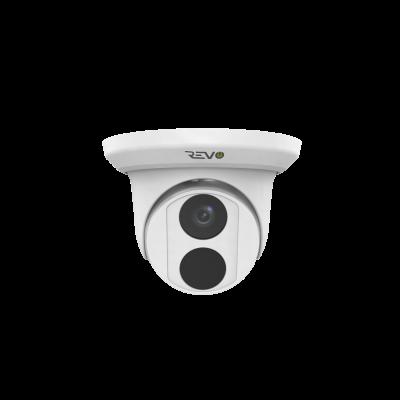 REVO ULTRA 4K(8 Megapixel) Indoor/Outdoor Fixed Lens Turret Camera w/ 100' CAT5e Cable