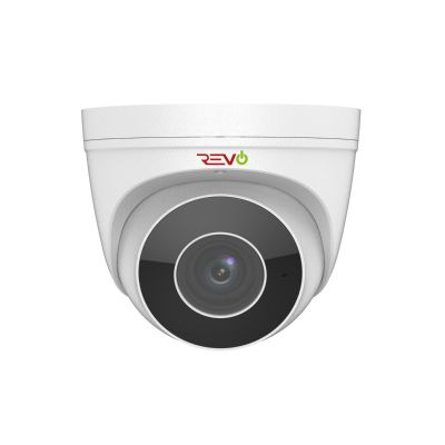 Ultra Plus HD 4 Megapixel IP Indoor/Outdoor Surveillance Turret Camera with Motorized Varifocal Lens & Built-in Microphone